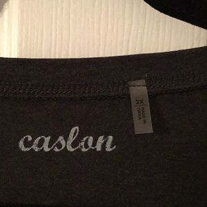 Caslon Tops - Caslon Charcoal Plus Size Top
